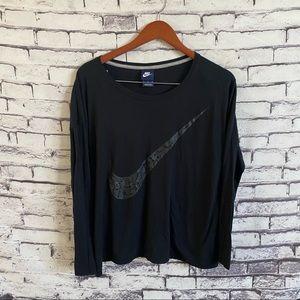 Nike Sportswear Oversize Logo L/S SZ M
